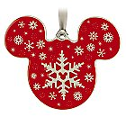 Mickey Icon Ornament - Snowflake