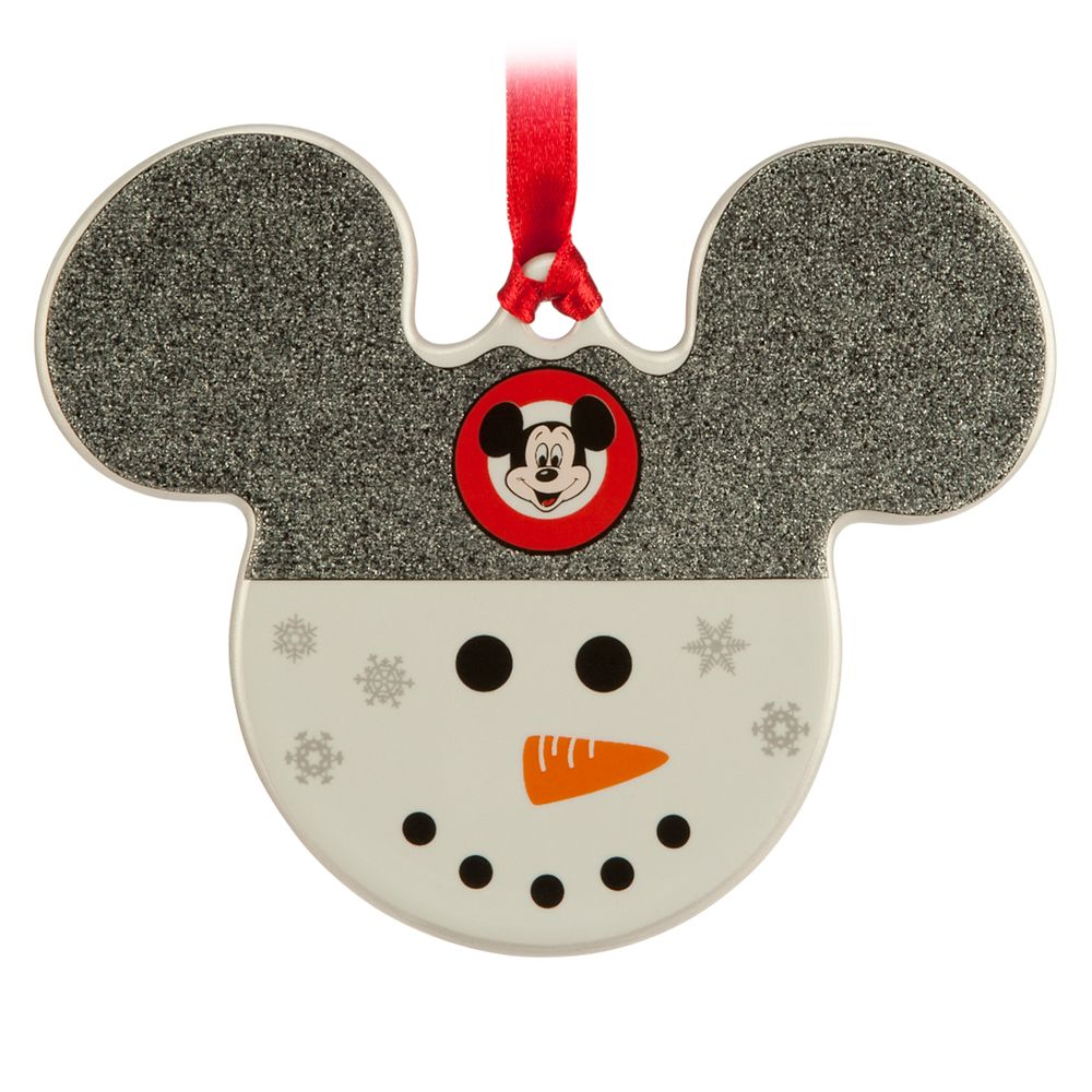 Mickey Icon Ornament – Snowman