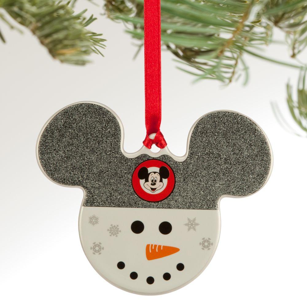 Mickey Icon Ornament – Snowman