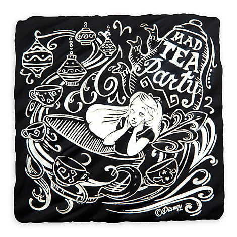 Mad Tea Party Tile Coaster