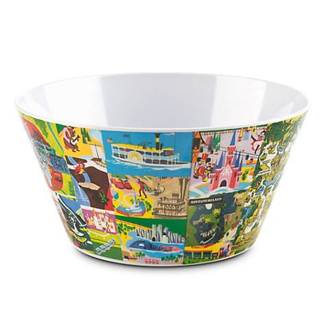 Magic Kingdom Map Bowl - Fantasyland