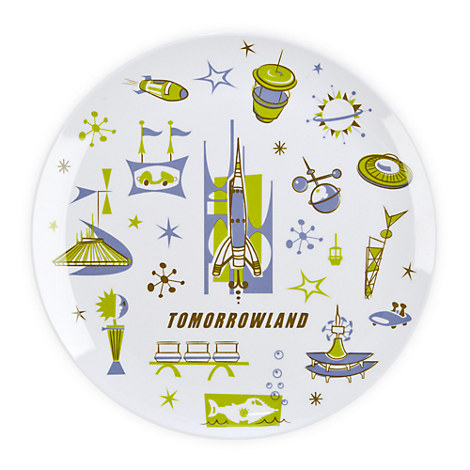Tomorrowland Plate - 8''