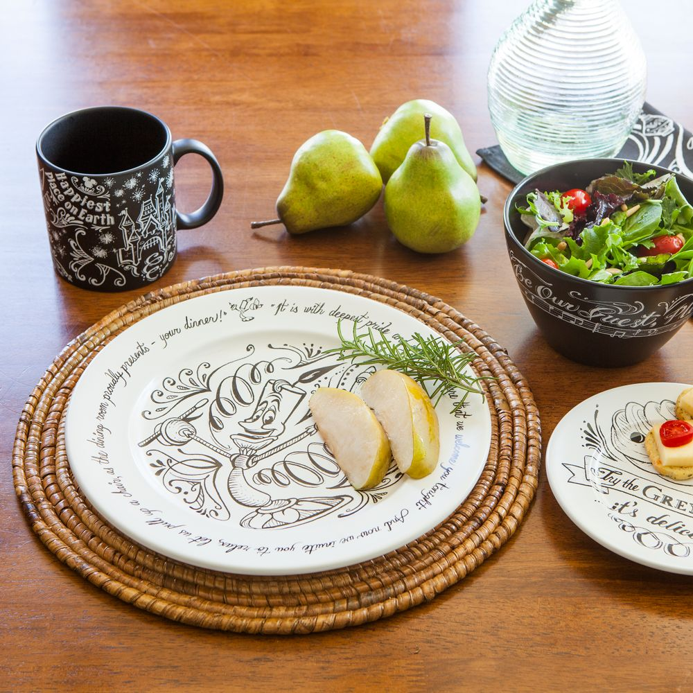 Lumiere Be Our Guest Dinner Plate