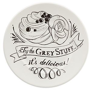 Be Our Guest Dessert Plate - White
