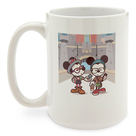 Mickey and Minnie Mouse ''Castle Coffee Break'' Mug