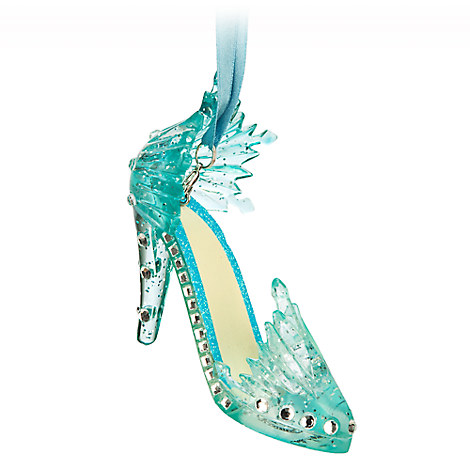 Elsa Shoe Ornament - Frozen