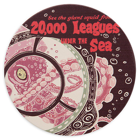Disney Parks Attraction Poster Coaster - 20,000 Leagues Under the Sea