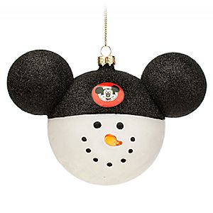 Mickey Mouse Club Snowman Ornament