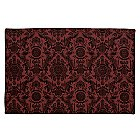 The Haunted Mansion Wallpaper Placemat - Maroon