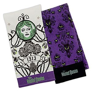 The Haunted Mansion Dish Towel Set