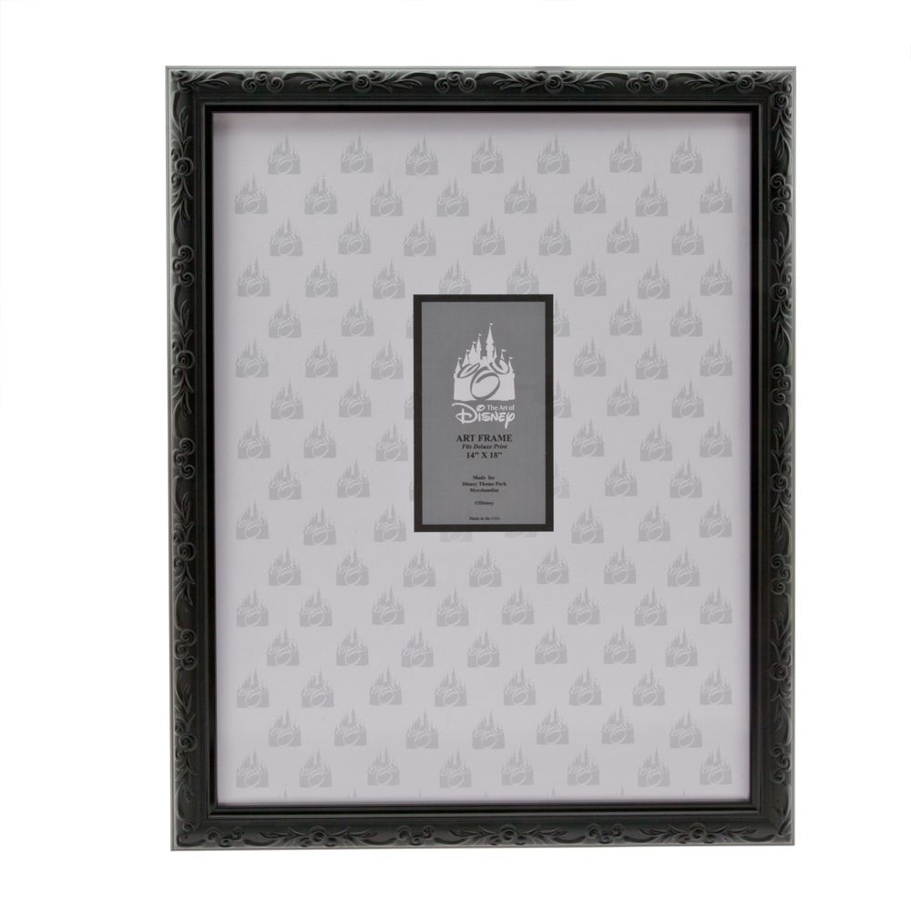 Mickey Mouse Black Frame  14'' x 18'' Official shopDisney