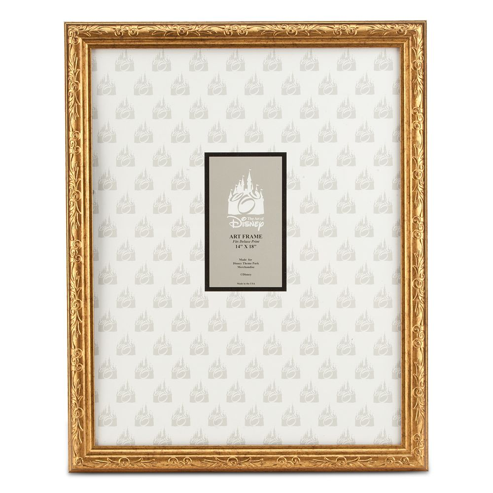 Mickey Mouse Gold Frame – 14'' x 18''