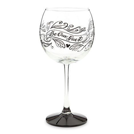 Be Our Guest Stemmed Wine Glass - 18 oz.