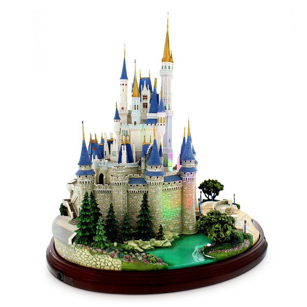 Cinderella Castle Miniature by Olszewski – Walt Disney World
