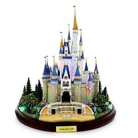 Cinderella Castle Miniature by Olszewski - Walt Disney World