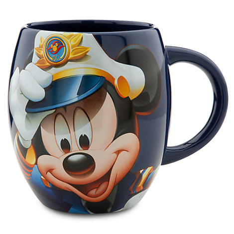 Captain Mickey Mouse Mug - Disney Cruise Line