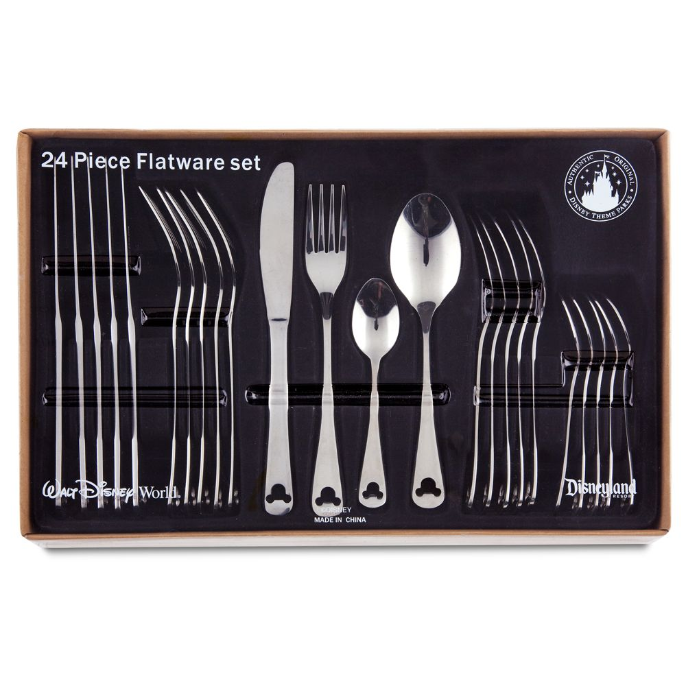 Gourmet Mickey Mouse Flatware Set