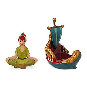 Peter Pan Salt and Pepper Set