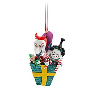 Lock, Shock & Barrel Ornament - The Nightmare Before Christmas