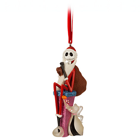 Jack Skellington and Zero Ornament