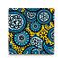 Mickey Mouse Icon Indigo Tile - Paisley