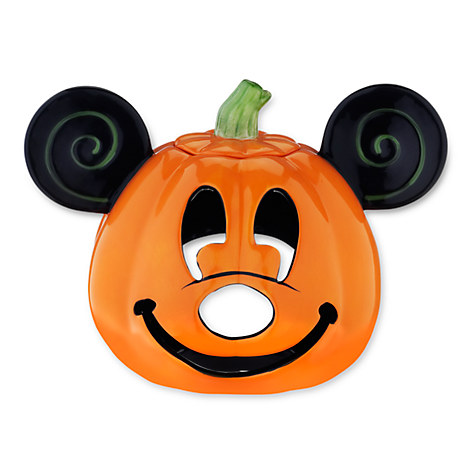 Mickey Mouse Jack O' Lantern Votive Candle Holder