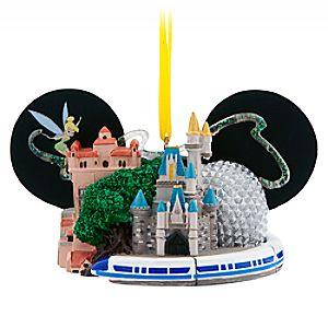 Walt Disney World Ear Hat Ornament with Tinker Bell