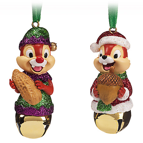 Chip 'n Dale Bell Ornament Set