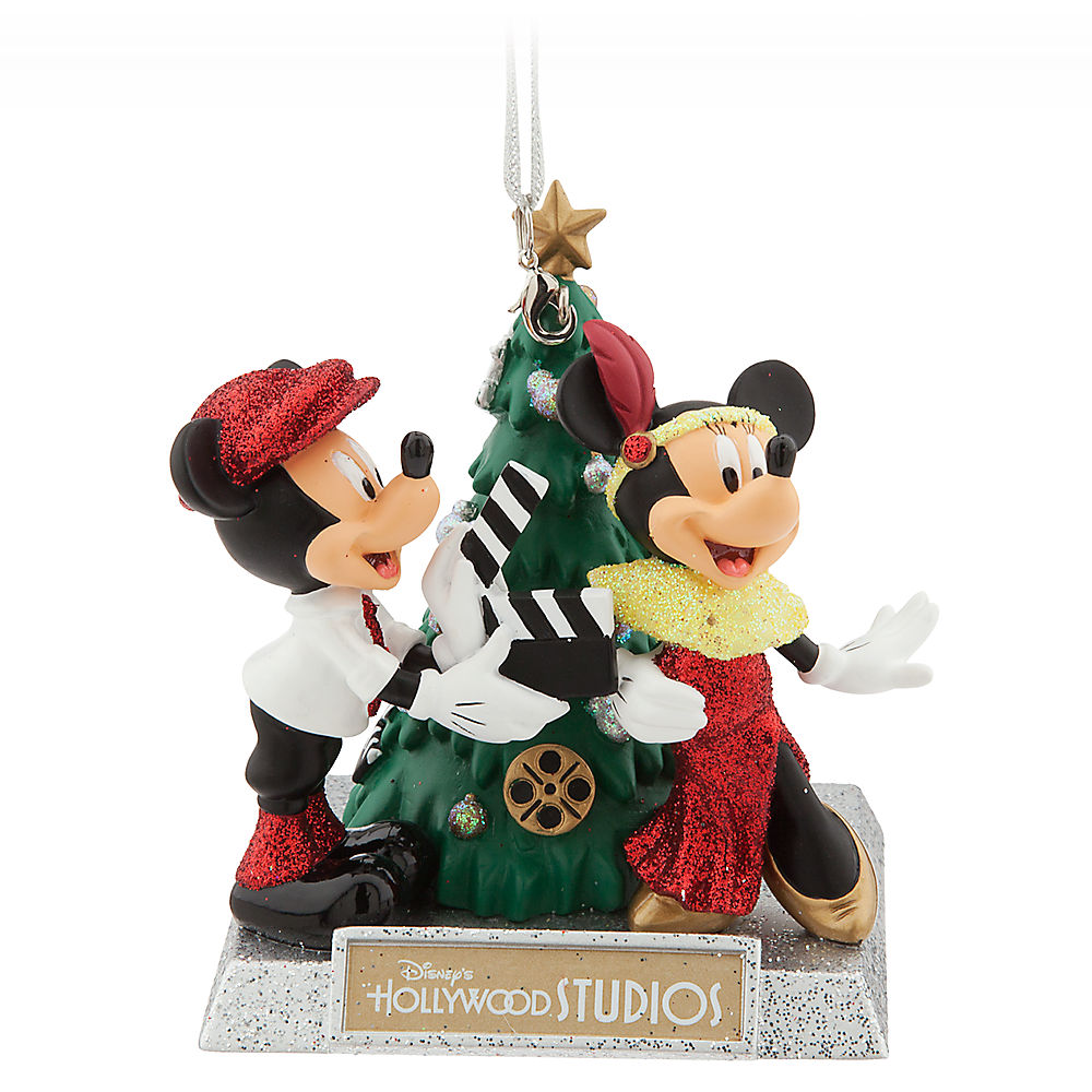 Gymnastics ornament christmas - Mickey And Minnie Mouse Holiday Ornament Disney S Hollywood Studios