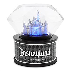 Disneyland Diamond Celebration Sleeping Beauty Castle Light-Up Miniature