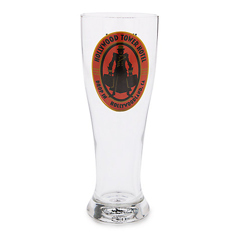 Hollywood Tower Hotel Pilsner Glass