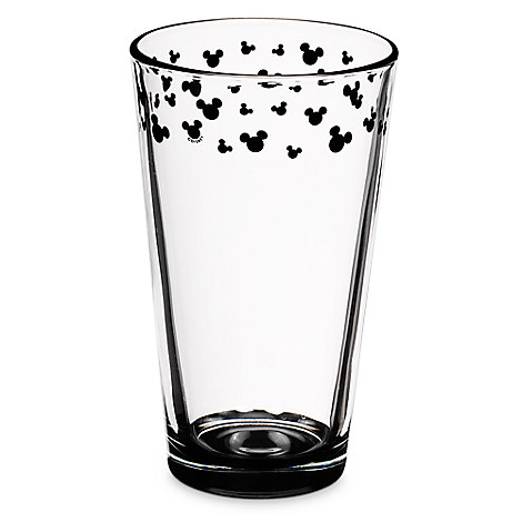 Mickey Mouse Icon Glass Tumbler