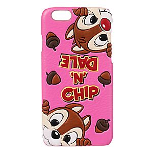 Disney Store Chip 'n Dale Leather Iphone 6 Case