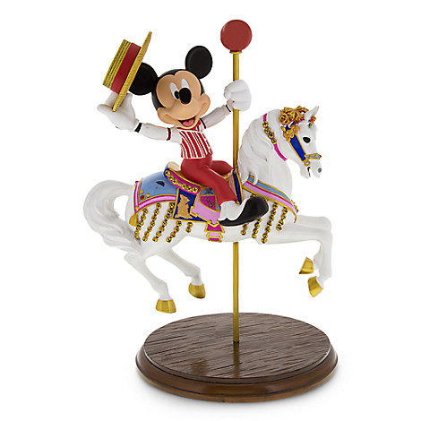 Mickey Mouse and Jingles Figure - King Arthur Carrousel