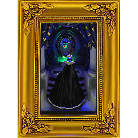 Snow White and the Seven Dwarfs ''Evil Queen at the Mirror'' Gallery of Light by Olszewski