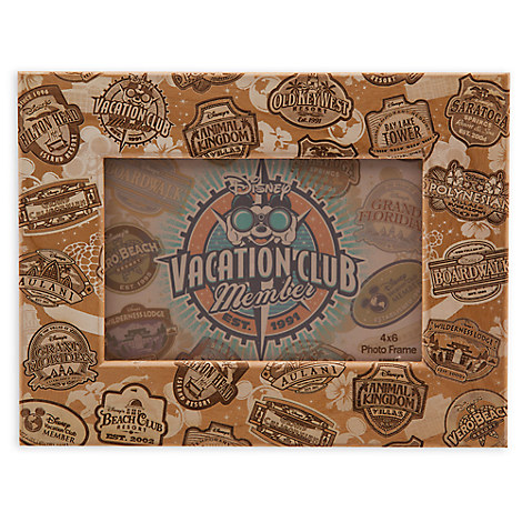 Disney Vacation Club Frame