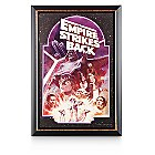 The Empire Strikes Back Movie Poster Reproduction Metal Print - Framed