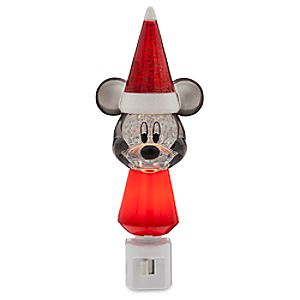 Santa Mickey Mouse Nightlight