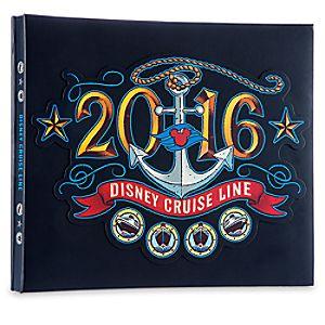 Disney Cruise Line 2016 Scrapbook Album