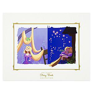 Rapunzel Deluxe Print