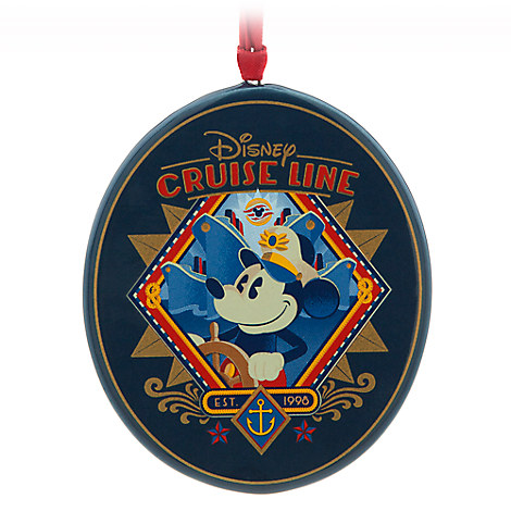 Captain Mickey Ornament - Disney Cruise Line