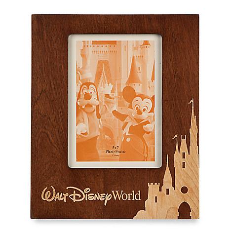 Walt Disney World Wood Photo Frame - Portrait - 5'' x 7''