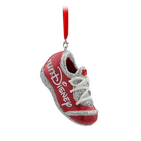 runDisney Sneaker Ornament - Red