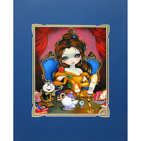 ''Belle's Enchantment'' Deluxe Print by Jasmine Becket-Griffith