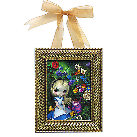 ''Alice in the Garden'' Framed Giclee on Canvas by Jasmine Becket-Griffith - Small