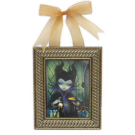 ''Maleficent Enthroned'' Framed Giclee on Canvas by Jasmine Becket-Griffith - Small
