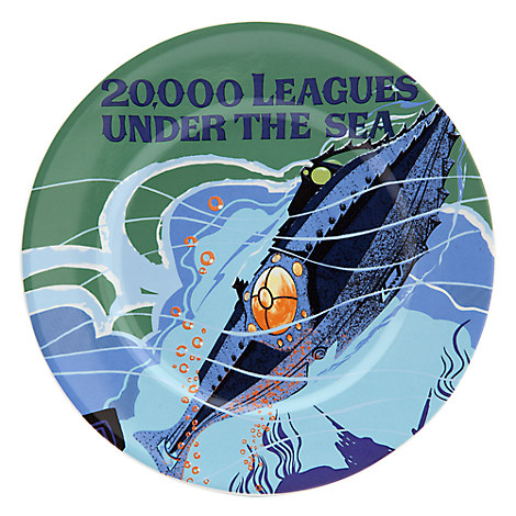 Disney Parks Attraction Poster Plate - 20,000 Leagues Under the Sea - 7''