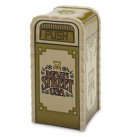 Main Street U.S.A. Trash Can Salt or Pepper Shaker