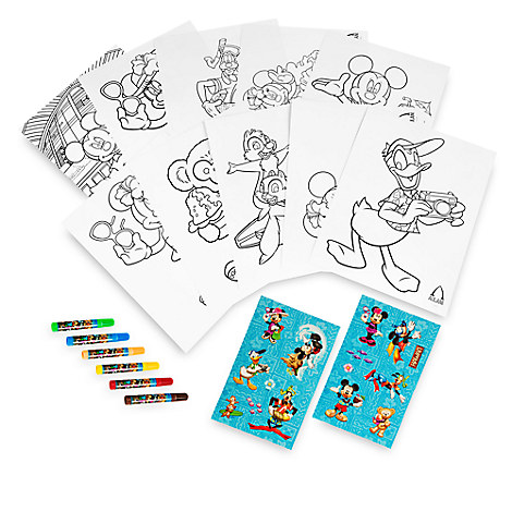 Mickey Mouse and Friends Activity Set Book -  Aulani, A Disney Resort & Spa