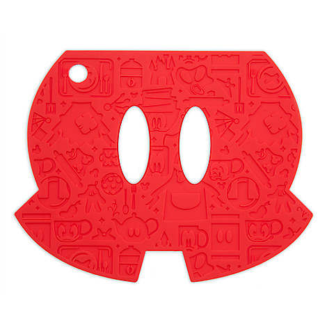 Mickey Mouse Shorts Colorful Kitchen Trivet
